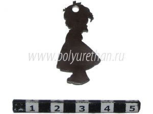 "Key trinket ""Girl""  ― Polyurethan The outside appearance of the product may not be the same as in the image. We are constantly upgrading our products to improve their quality"