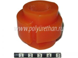 Stabilizer bushing, front suspension, ID=24.8 mm для AUDI  A8; AUDI A4; SKODA SUPERB; VOLKSWAGEN PASSAT ― Polyurethan The outside appearance of the product may not be the same as in the image. We are constantly upgrading our products to improve their quality